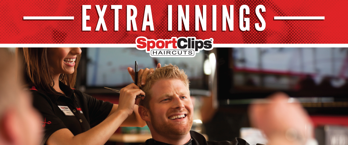 The Sport Clips Haircuts of Troy Extra Innings Offerings